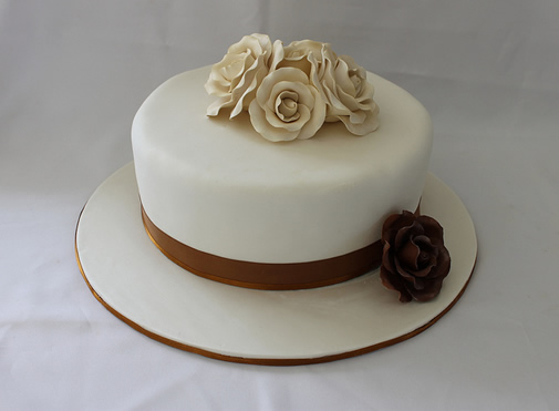 simple 1 tier wedding cake designs simple wedding cakes 1 tier www pixshark images 19905